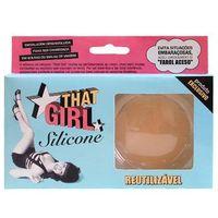 Protetor Auto adesivo Para Os Seios That Girl Silicone That Girl
