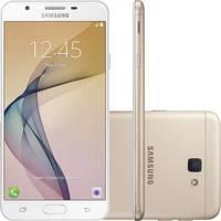 Smartphone Samsung Galaxy J7 Prime SM-G610M Dual Chip Android 6.0 32GB Branco e Dourado