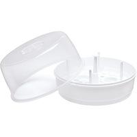 Esterilizador De Mamadeiras Para Microondas Kuka Branco