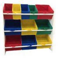 Organizador de Brinquedos Infantil OrganiBox Colorido