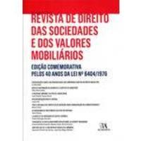Revista De Direito Das Sociedades E Dos Valores Mobiliários - Edição Comemorativa