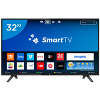Smart TV LED 32 Philips 32PHG5813/78 Conversor Digital Wi-Fi 2 HDMI 2 USB