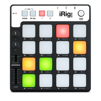 Controlador MIDI iRig Pads Groove IK Multimedia HGRT2Z/B