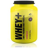 Suplemento 4 Plus Nutrition Whey+ 100% Premium Whey Protein Baunilha 900kg