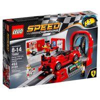 Lego Speed Champions Ferrari Centro De Desenvolvimento Ferrari Fxx K 75882