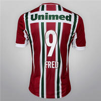 f9768d871f Camisa Adidas Fluminense IV 12 13 nº 9 Fred Masculina Vermelha e Verde