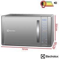 Microondas Electrolux ME41X Grill 31 Litros Prata