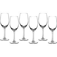 Cálice Vinho Branco Cristal Blumenau 6 peças Liso Extra