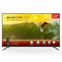 TV LED 50'' TCL 4K 50P8M