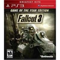 Jogo Fallout 3 Goty Game of The Year Edition PS3