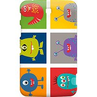 Capa Geonav Galaxy Tab3 7'' Animated Monsters
