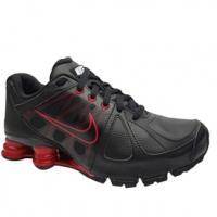 Tênis Nike Shox Agent SL Feminino Preto e Vermelho  1e55b639dc5