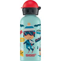Garrafa Sigg Travel Boy Switzerland Azul Clara 400ml