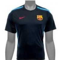 Camisa Barcelona Nike Oficial Treino Masculina Azul Marinho  ae2596d7ad32e