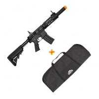 Rifle de Airsoft AEG M4A1 CM513 RIS BLACK CYMA + Capa