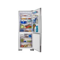 Refrigerador Panasonic 2 Portas Frost Free NR-BB53PV3XA 425 Litros Aço Escovado 110V