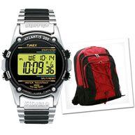 7bb943c46ef Relógio Timex Atlantis 100 77517 + Mochila Esportiva