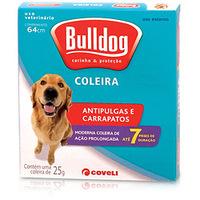 Coleira Bulldog Antipulgas e Carrapatos