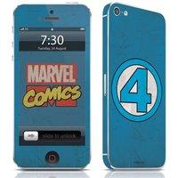 Adesivo Celular Quarteto Fantástico Logo Marvel IPhone 5 Studio Geek