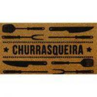 Capacho de Churrasqueira Super Print Isadora Design 40cmx75cm Churrasqueira