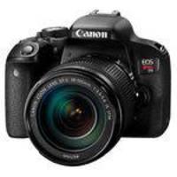 Câmera Digital Canon EOS Rebel T7i DSLR 24.2MP Preta