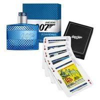 Kit Perfume Masculino Ocean Royale James Bond Eau de Toilette + Jogo de Cartas