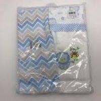 Kit Manta Cueiro Leão Azul 2 Und - Minasrey Ref