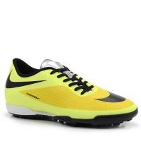 96c935c577 Chuteira Society Nike Hypervenom Phade Tf Masculino Preto e Amarelo Tamanho  39
