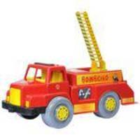 Caminhao Bombeiro Auto Escada Brinquedo Maptoy