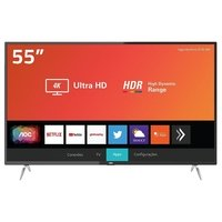 Smart TV LED Aoc 55 4K 55U6295/78G