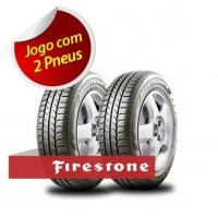 Kit 02 Pneus 175/65 R 14 - Multihawk 82t Firestone - Novo