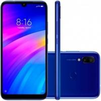 Smartphone Xiaomi Redmi 7 Desbloqueado 32GB Dual Chip Android 9 Pie Azul Cometa