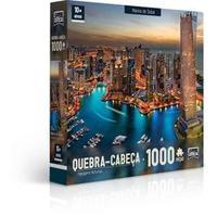 Quebra Cabeca Cartonado Paisagens Noturnas 1000 Pcs Toyster