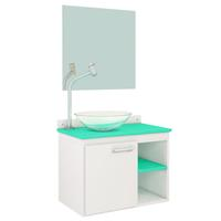 Gabinete para Banheiro VTEC Delta Aqua