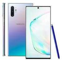 Smartphone Samsung Galaxy Note 10+ SM-N975F/2DL 256GB Desbloqueado Dual Chip Android 9.0 Prata