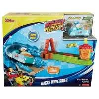 Pista e Veículo Disney Mickey Mouse Aventuras Sobre Rodas Donald Wave Rider Fisher-Price
