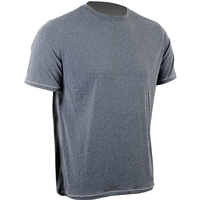 Camiseta Skyhill UV Sports Manga Curta Masculina Cinza