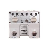 Pedal para Guitarra Mooer TDL1 Twin Reecho Pro Digital Delay