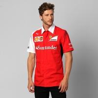 Camisa Puma Scuderia Ferrari Team Masculina Vermelha  ffd11d2d952