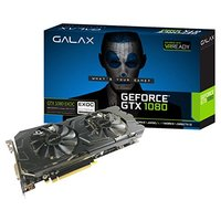 Placa de Vídeo Galax Geforce® Gtx 1080 Ex Oc 8Gb Ddr5x 256 Bits