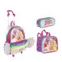 Kit Mochila Grande Barbie Dreamtopia