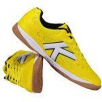 8e96de0733f3a Chuteira Kelme Copa Futsal Amarela
