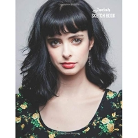 Sketch Book: Krysten Ritter 129 pages, Sketching, Drawing and Creative Doodling Notebook to Draw and Journal 8.5 x 11 in large (21.59 x 27.94 cm)
