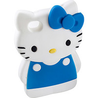 Capa para IPhone 5G Case Mix Hello Kitty 3D Azul