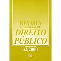 Revista Trimestral de Direito Público N° 32/2000