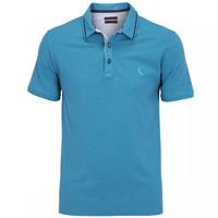 Camisa Polo Reserva Mescla Jeans Friso Masculina Azul Claro  f369f4ec0fbe5