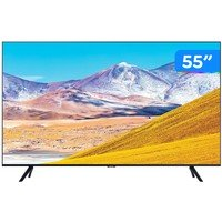 "Smart TV 4K LED 55"" Samsung UN55TU8000GXZD"