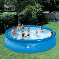 Piscina Intex Easy Set 5621 Litros Azul