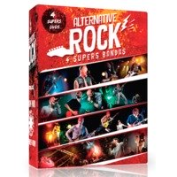 Alternative Rock - Red Hot Chilli Peppers, System Of A Down, Linkin Park, Metallica - Box Com 4 DVDs