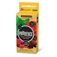 Preservativo Prudence Cores E Sabores Mix 12 Unidades